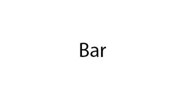 Logo for Bar