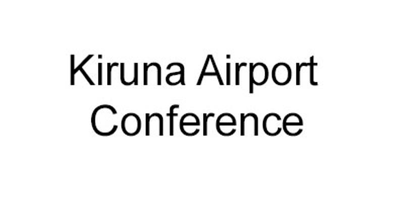 Logo for Kiruna Airport conference