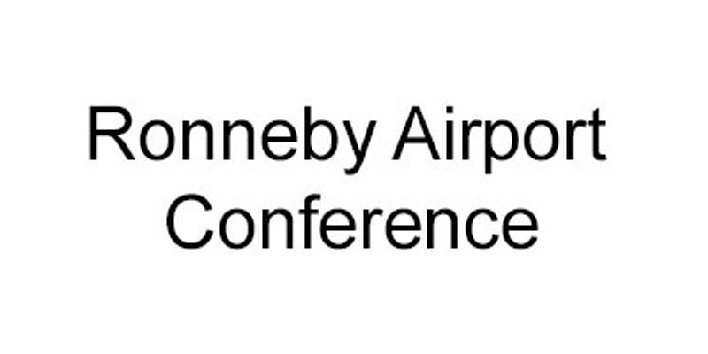 Logoe for Ronneby Airport Conference