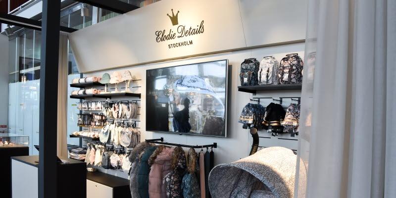 Elodie details på Arlanda