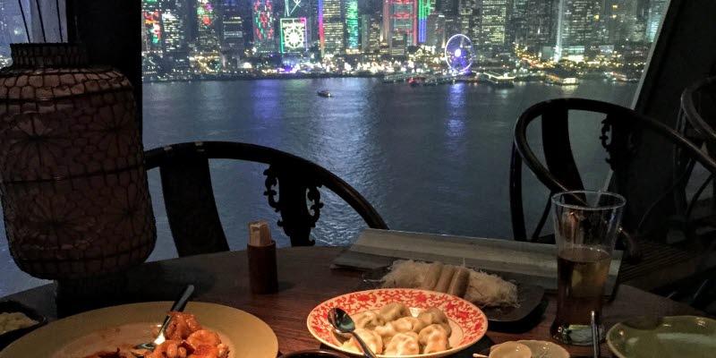 a restaurant in hongkong