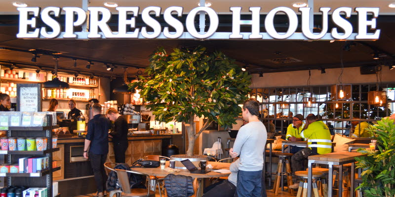 Espresso house i Sky City