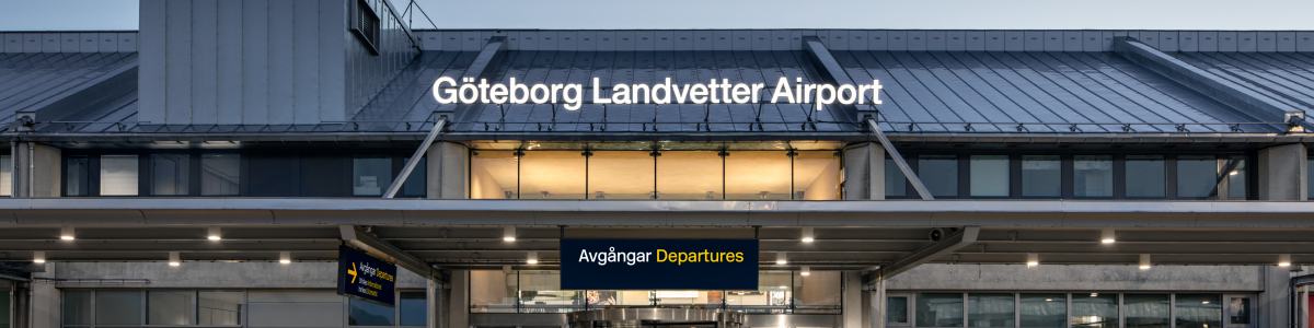 Entrance at Göteborg Landvetter Airport