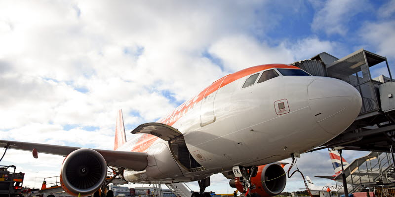 flight launch with easyJet