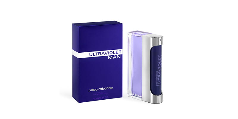 Paco Rabanne Ultraviolet EDP 50ml, carton and bottle