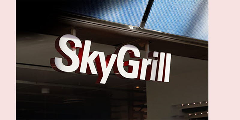 Storesign Skygrill