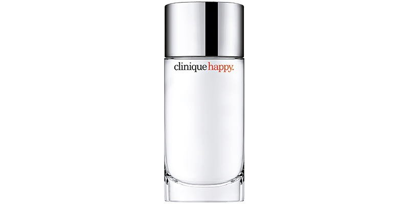 A bottle of Clinique Happy EDP 100ml