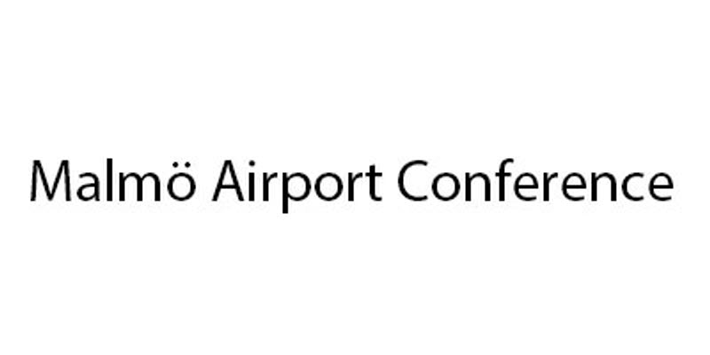 Logo for Malmö Airport conference