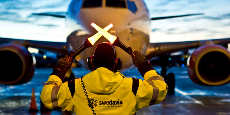 Swedavia flight