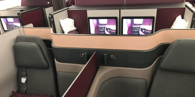 QSuite at Qatar Airbus A350-900