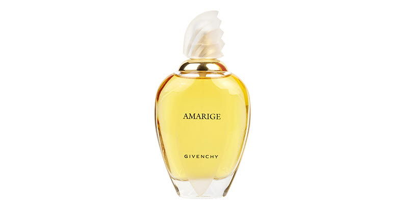 A bottle of Givenchy Amirage