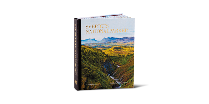 A book of Swedish national parks